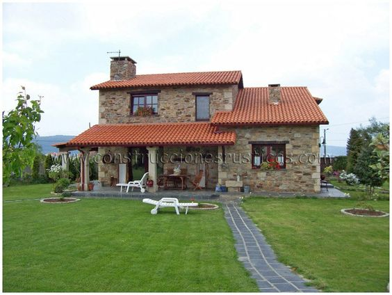 Construcciones r sticas obras casas de piedra rusticas - Construcciones de casas ...