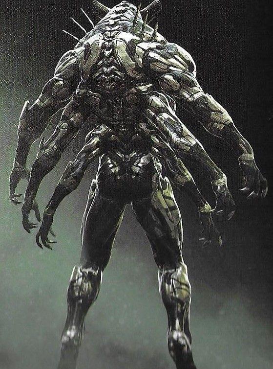 Humanoid Creature Concept Art