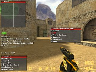 Crionosfera WallHack (CS 1.6 Cheats)