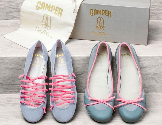 Camper&Prettyballerinas caminan juntas En España hay mucho talento. ¿Claro que si !