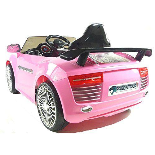 Kids Ride On – 12V Audi Style Sports Saloon (Pink) 2014 Model!