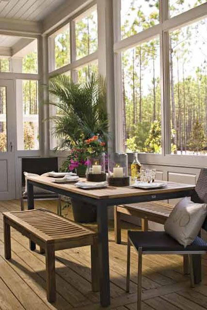 Screened in porch porches and screens on pinterest for Southernlivinghouseplans com