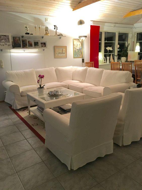 Ektorp soffa och fåtöljer med Liatorp soffbord Hus och hem inredning Pinterest Liatorp