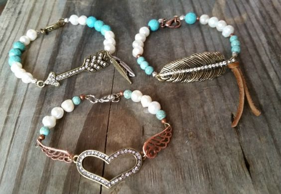 Genuine Pearl and Turquoise Bracelet