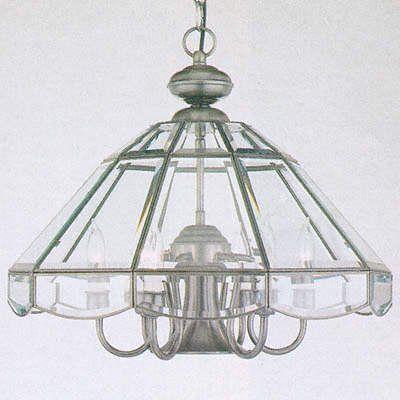 Forte Lighting 3054-07-34 7 Light Chandelier