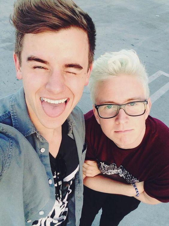 Connor Franta and Tyler Oakley