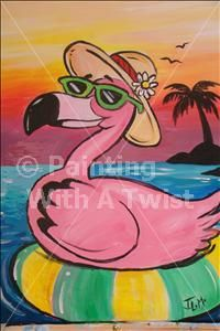 PRIVATE PARTY Hemple Happy Hour - Wayne, PA Painting Class - Painting with a Twist