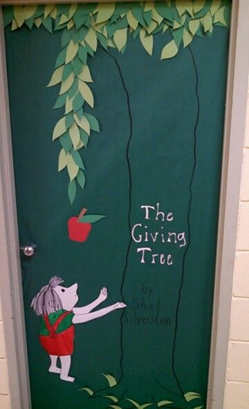 March Is Reading Month Principal S Office Door The Giving