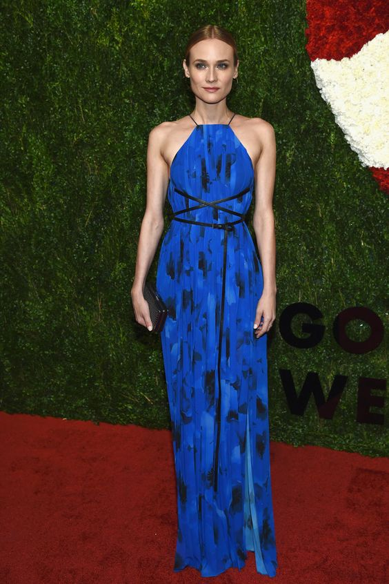 Diane Kruger in Michael Kors attends God's Love We Deliver, Golden Heart Awards. #bestdressed