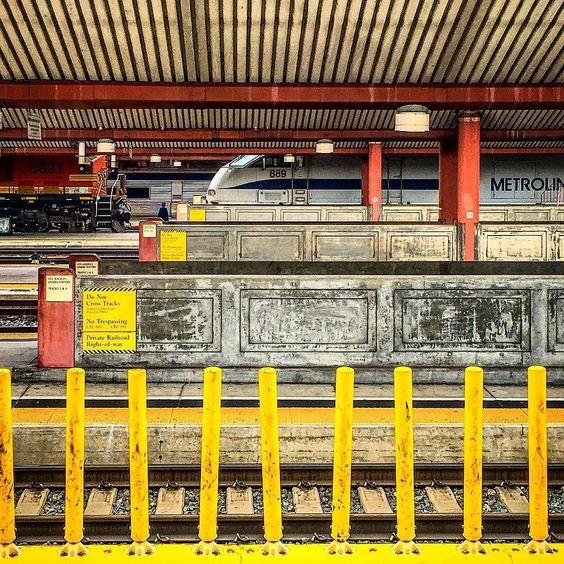 #unionstation #metrolink #train #trainstation #dtla #commute