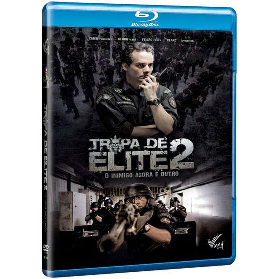 Tropa de Elite 2: O Inimigo Agora é Outro -BLU-RAY