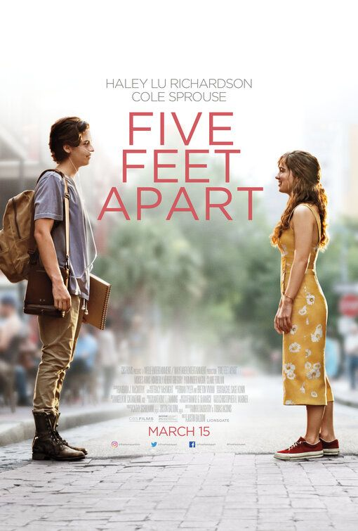 Click To View Extra Large Poster Image For Five Feet Apart