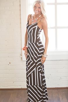 Summer Goddes Maxi Dress Black - Modern Vintage Boutique