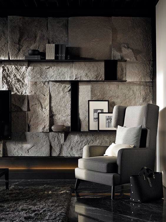 Modern Boho Home Interiors And Design Ideas From The Best In Condos Penthouses And Architecture Plus Th Stone Walls Interior Stone Interior Stone Wall Design