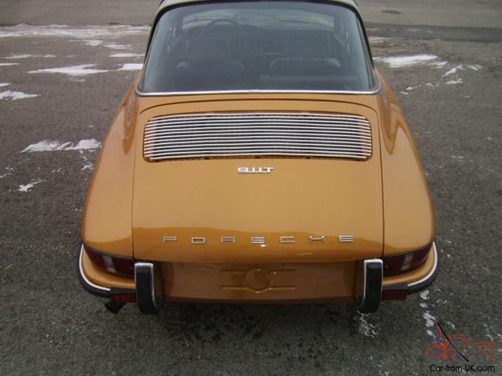 1971 PORSCHE 911T. TARGA RARE COLOR. EXCELLENT