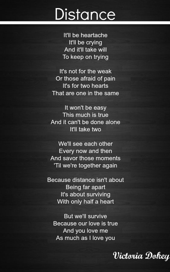 Distance|dedicated to my brother who is deployed and my sister-inlaw :(
