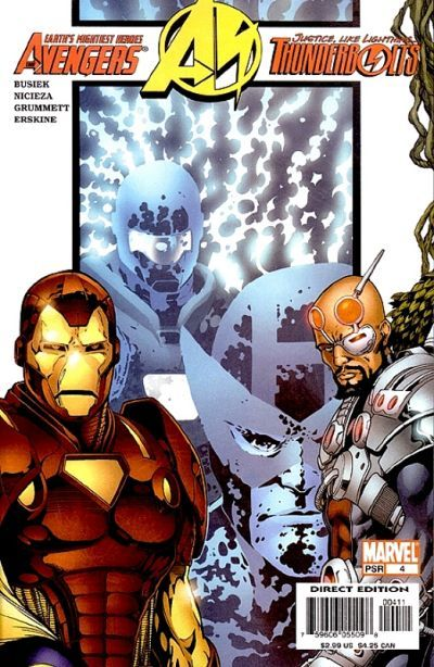 Avengers/ Thunderbolts # 4 by Barry Kitson