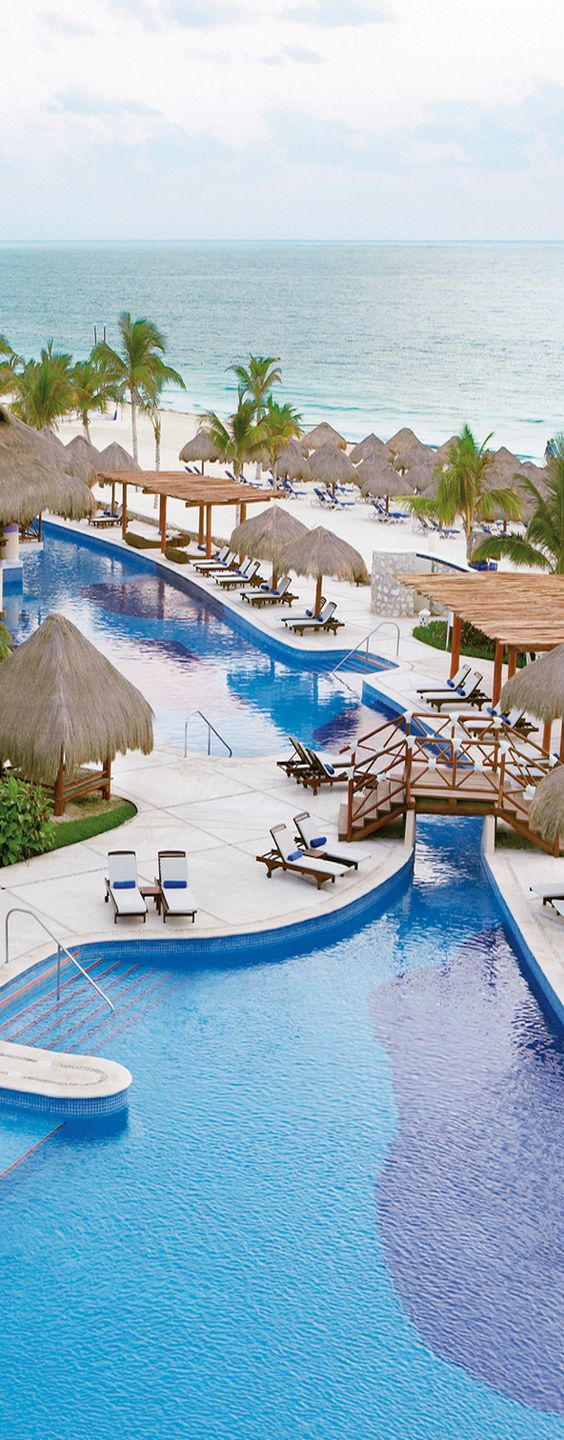 Excellence Riviera - Cancun, Mexico.    Great for some winter sunshine, all inclusive!