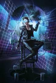 Resultado de imagen para cyberpunk style
