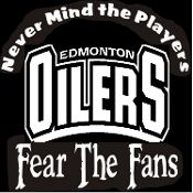 Custom Screen Printed T-shirt Edmonton Oilers Never Mind The Pl