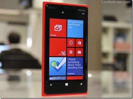Nokia Lumia 920 es el cuarto celular más vendido de AT - http://www.leanoticias.com/2012/12/13/nokia-lumia-920-es-el-cuarto-celular-mas-vendido-de-att/