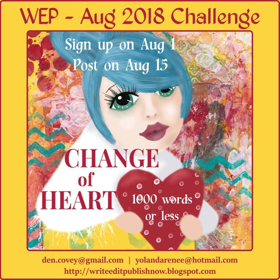 Join us for the August Challenge next! Click image for details...