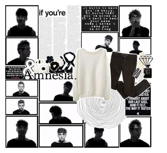 """- ♔ - SOMETiMES i START TO WONDER WAS iT JUST A LiE? iF WHAT WE HAD WAS REAL, HOW COULD YOU BE FiNE? ; CAUSE i'M NOT FiNE AT ALL - ♔ -"" by angie-pie ❤ liked on Polyvore featuring NIKE, Charlotte Russe, Forever 21, Boohoo, Chanel and sunnydazetag"
