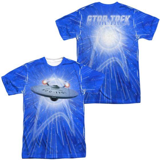 STAR TREK ALL SHE'S GOT (FRONT BACK PRINT)