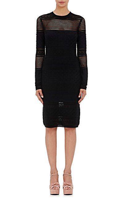 Derek Lam 10 Crosby Mixed-Stitch Midi-Dress - Short - Barneys.com