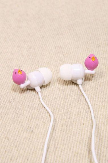 Birds Ear Bud Headphones