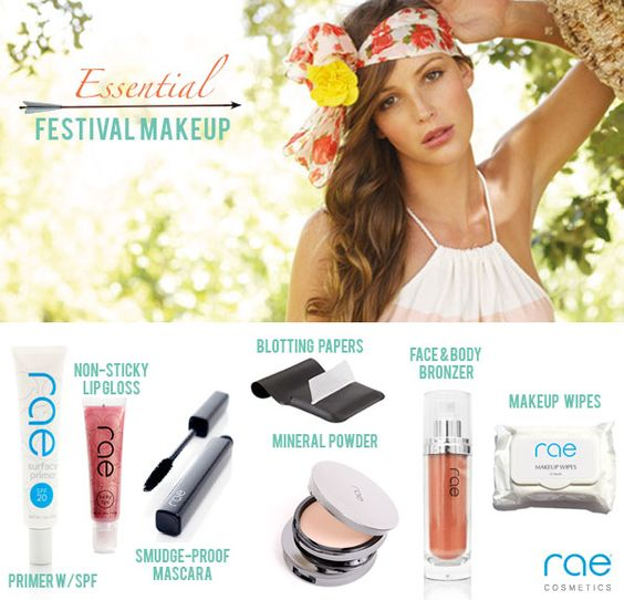 Festival makeup!