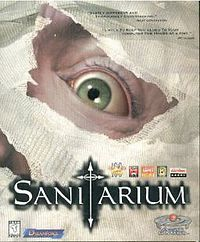 Sanitarium from 1998 for the PC. This point and click game was so awesome!