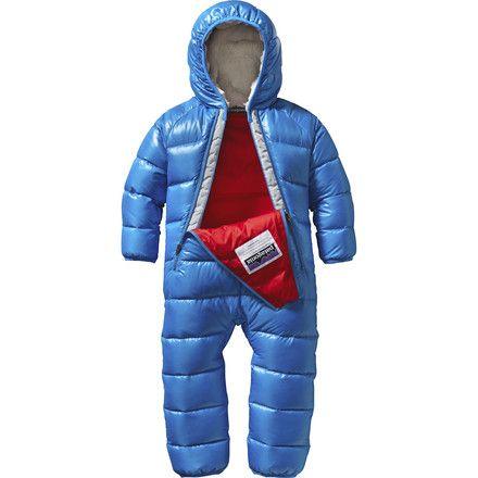 Patagonia Hi-Loft Down Sweater Bunting - Infant Boys'   Backcountry.com