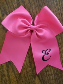 Initial Cheer Bow