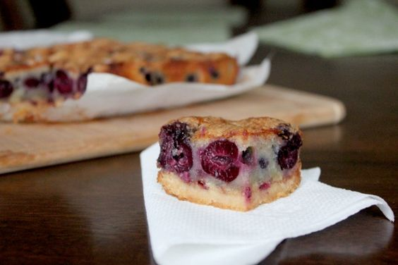 Cherry Brown Butter Bars | Sweets For The Sweet - Recipes to Try ...