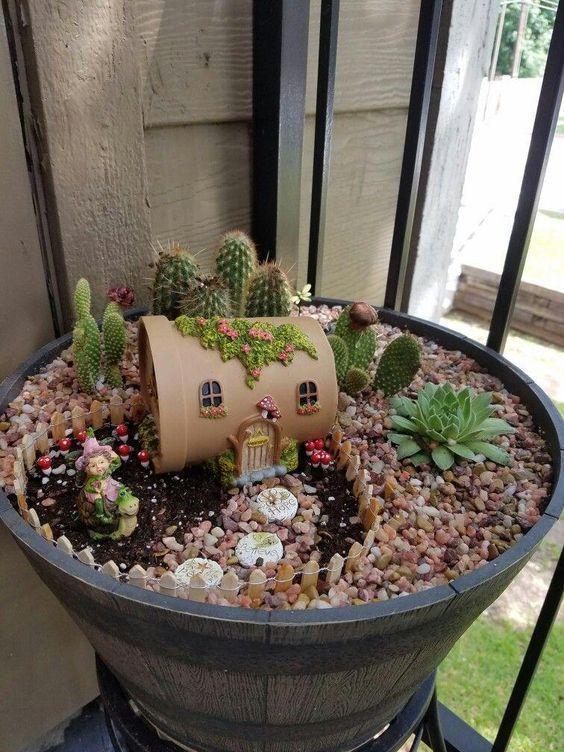 21++ Miniature per giardini in vaso trends