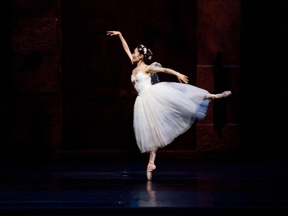 "Carolina Ballet Principal dancer Margaret Severin-Hansen in ""La Sylphide""  Photo by Armes Photography"