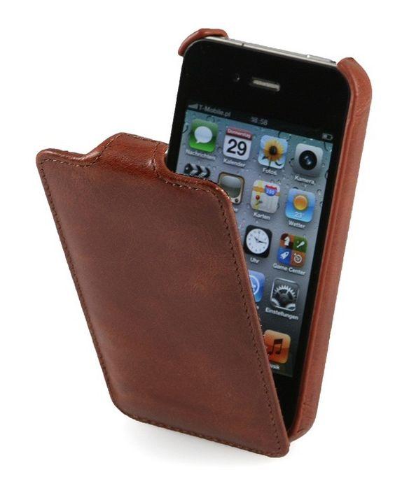 Stilgut Ultra SlimCase für iPhone 5 Braun