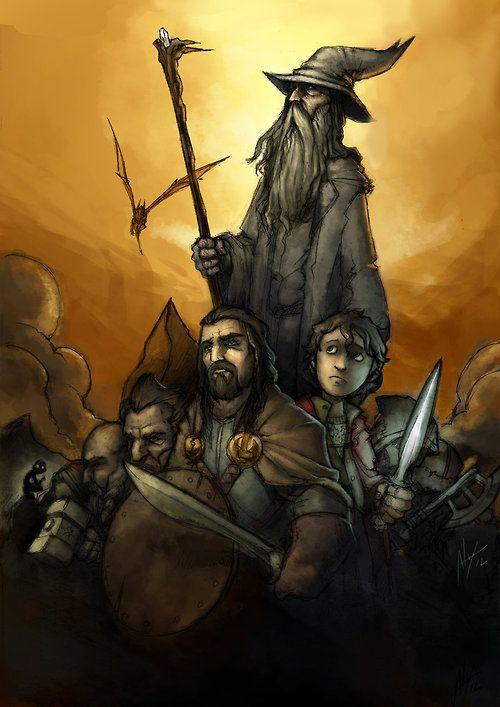 The Hobbit (via The Hobbit Tribute by troubadour93 on deviantART)