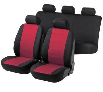 Autositzbezug Speed schwarz/rot