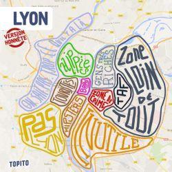 Des cartes de quartiers de villes version honnêtes pour Topito.