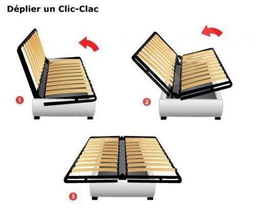 Clic Clac Taupe Chelsea Lestendances Fr En 2020 Fabriquer Un Canape Coffre De Rangement Rangement Tiroir