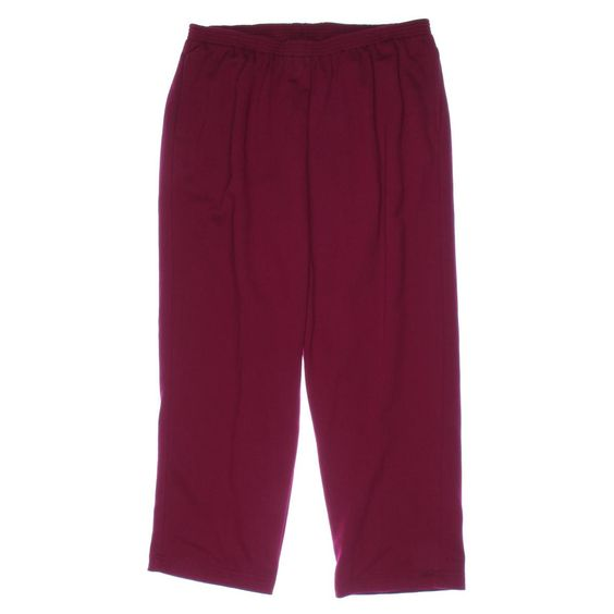 Alfred Dunner Womens Plus Knit Solid Athletic Pants