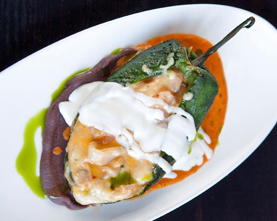 Chile Relleno Recipe _ This twist on the traditional Mexican stuffed ...