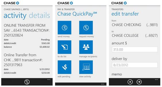Chase Mobile banking app now made available for Windows Phone users | WinBeta