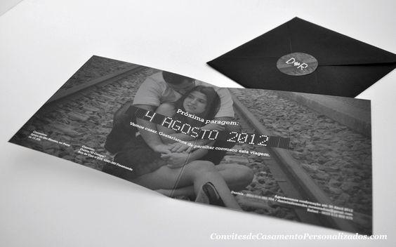 Convites de casamento personalizados .com