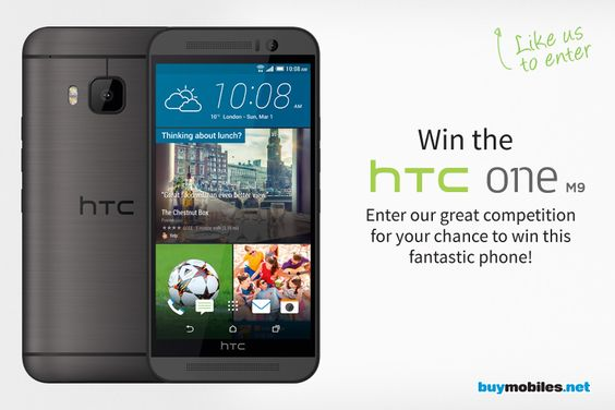 Enter now for your chance to win an HTC One M9!