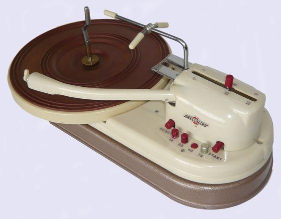 1959 Joboton record player: