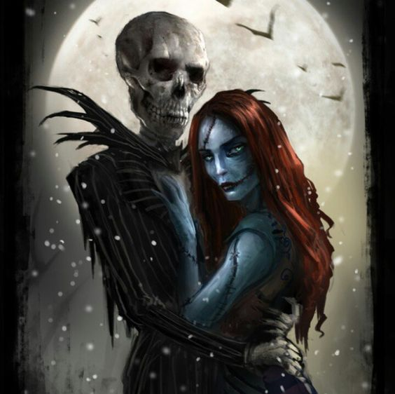 A real version of The Nightmare before Christmas I think.