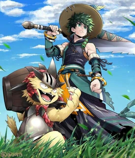 Pin By Adiostoreador On Boku No Hero Hero Monster Hunter Anime
